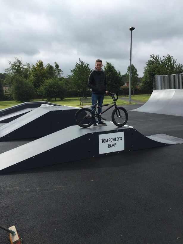 Teenager Raises More Than £7,000 For Skatepark