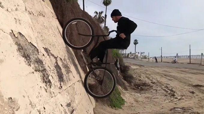 "CULT: Dakota Roche Shreds a 26"" Beach Cruiser"
