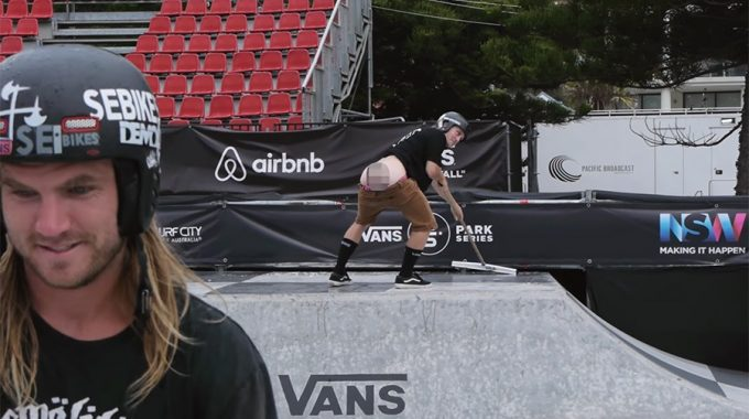 DAN FOLEY: Rain and Shine – Vans BMX Pro Cup
