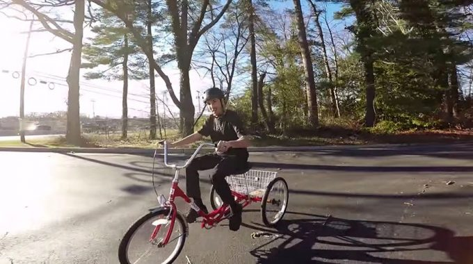 SCOTTY CRANMER: Riding a Trike