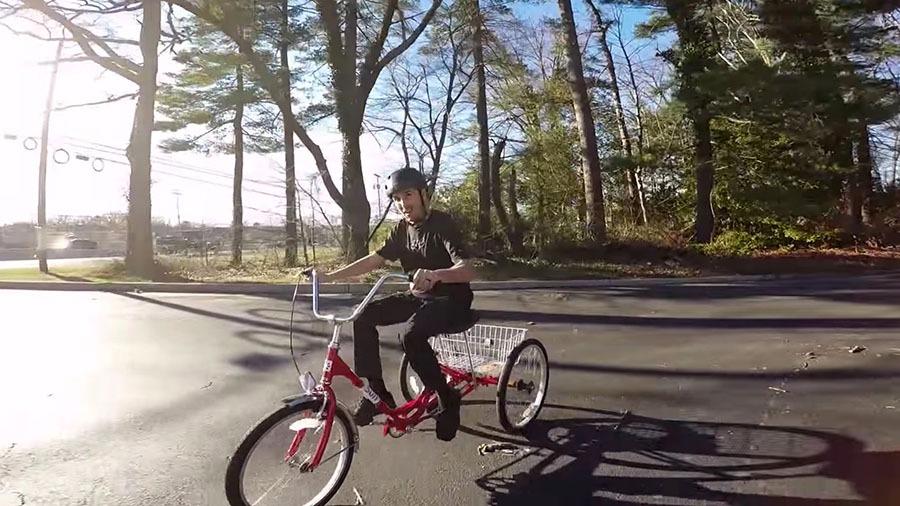 SCOTTY CRANMER: Riding a Trike