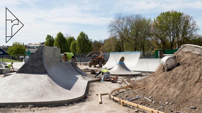 PROGRESS: Building The New Lewes Skatepark