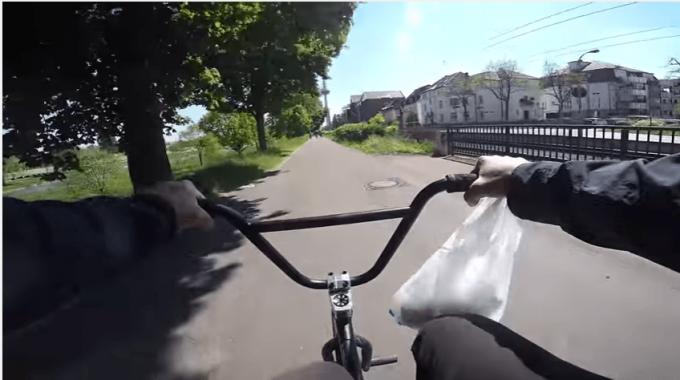 ROBIN KACHFI: BMX Street GoPro POV