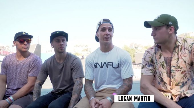 OLYMPIC BMX FREESTYLE PARK: Early Opinions with Logan Martin and Alex Coleborn