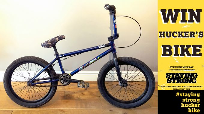 STAYING STRONG: Week 9 - WIN HUCKER'S BIKE