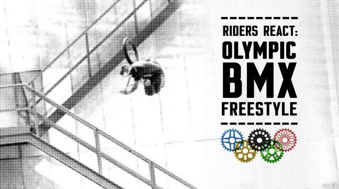 OLYMPIC BMX FREESTYLE PARK: Pro BMX Riders React