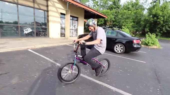 SCOTTY CRANMER: Rides On BMX Again