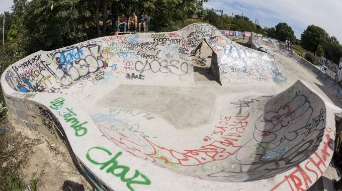 THE SPOT: Support London's Legendary DIY Skatepark