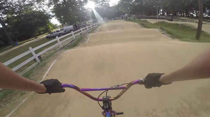SCOTTY CRANMER: Rides BMX Track