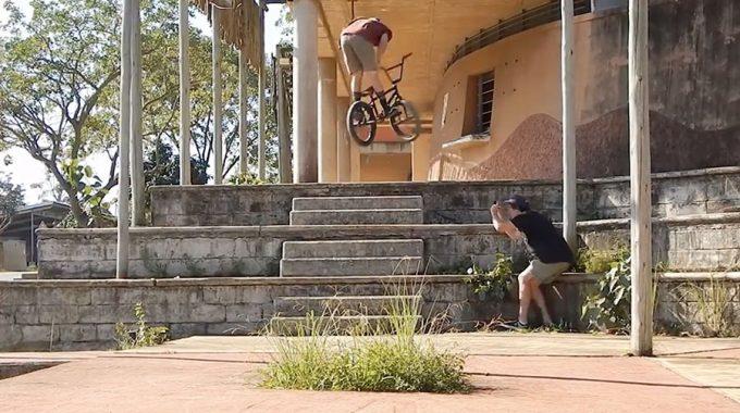 STREET GAME BMX: Murray Loubser x Darren Oatley