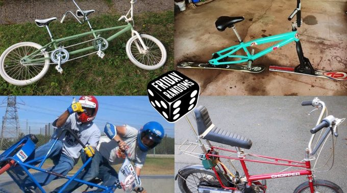 FRIDAY RANDOMS: Garage Find BMX Projects