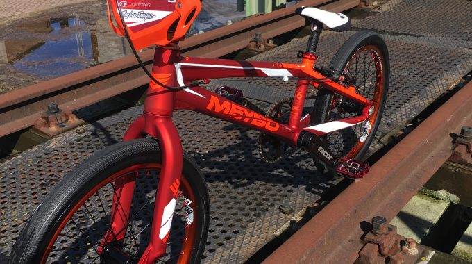 WHAT THEY RIDE: Raymond Van Der Biezen; Meybo Race Bike