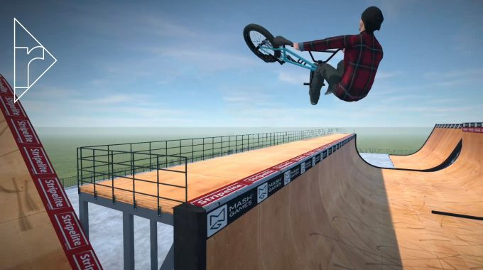 NEW BMX GAME - BMX Streets Pipe