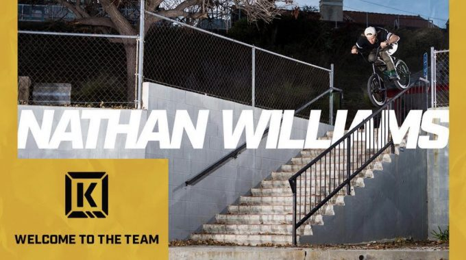 NATHAN WILLIAMS on Kink BMX 2018