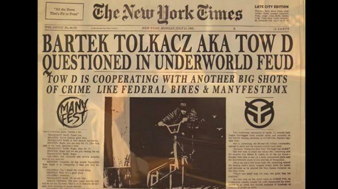 FEDERAL BIKES x MANYFEST BMX: Bartek 'Tow D' Tołkacz 2017
