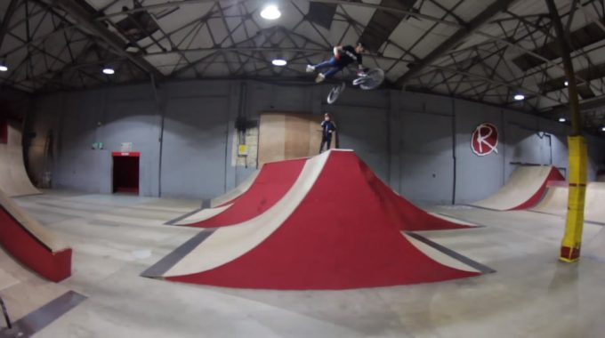 DYLAN HESSEY: Amazing 14 Year Old BMXer at Rampworx