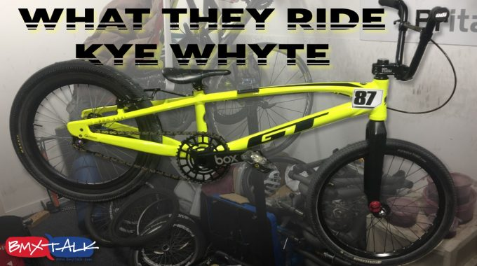 WHAT THEY RIDE: Kye Whyte