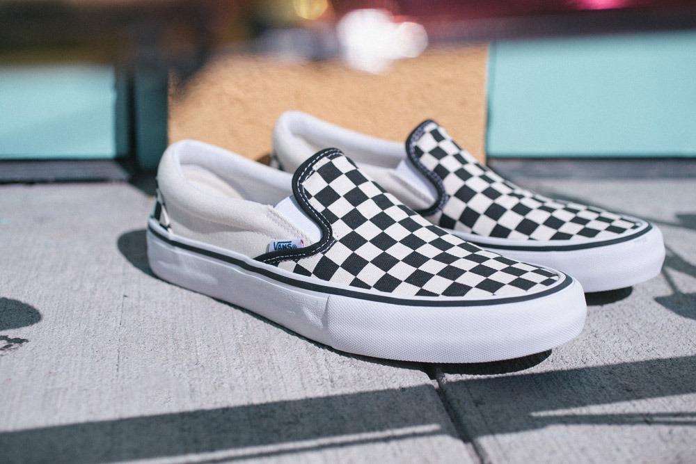 9f6b69e3b94b8 Vans Checkerboard Slip-On Pro | Fresh Product - Ride...
