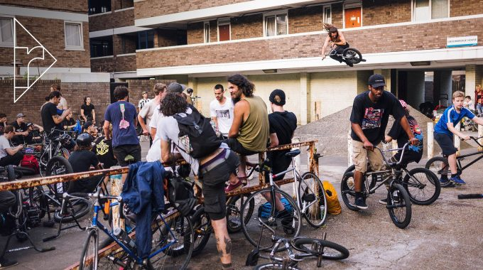 METAL PEGS BMX JAM: Video & Gallery - South London May 2018
