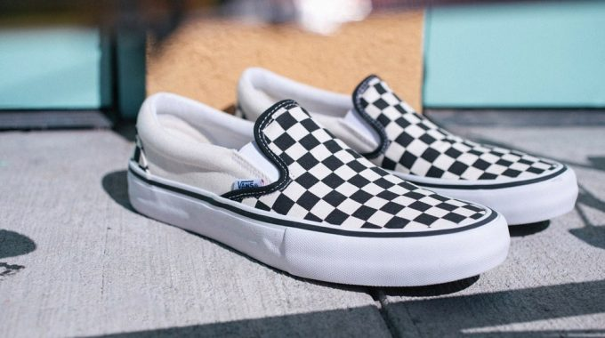 VANS: Checkerboard Slip-On Pro