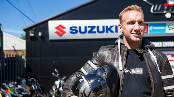 Declan Brooks on Suzuki Motorcycles and Team GB