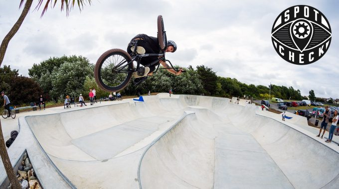 SPOT CHECK: Newquay Concrete Waves Skatepark