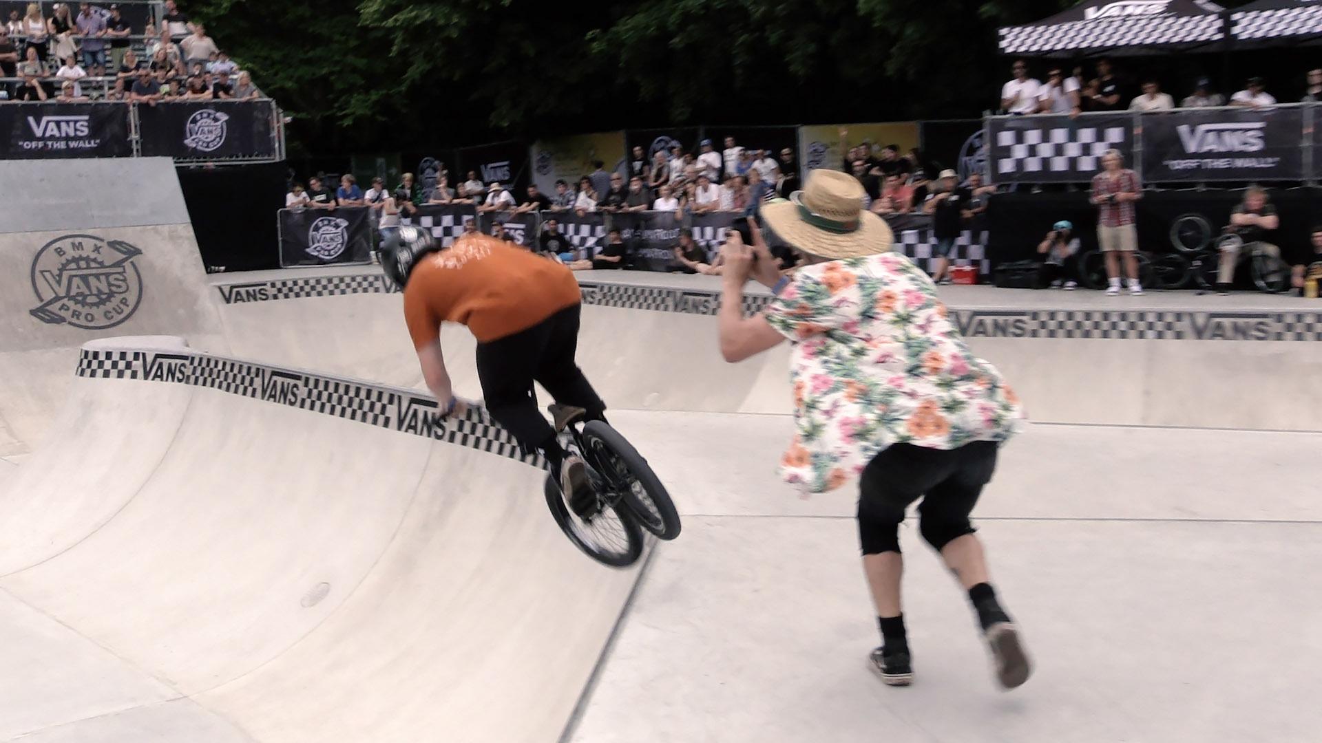 VANS BMX PRO CUP: UK Riders in Stuttgart