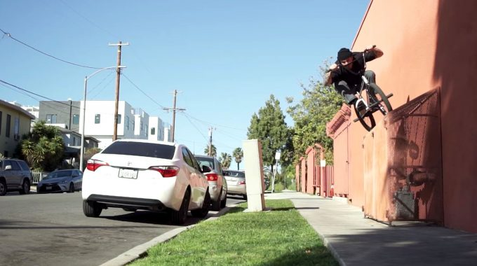 ODYSSEY BMX: Broc Raiford - WALKWAYS