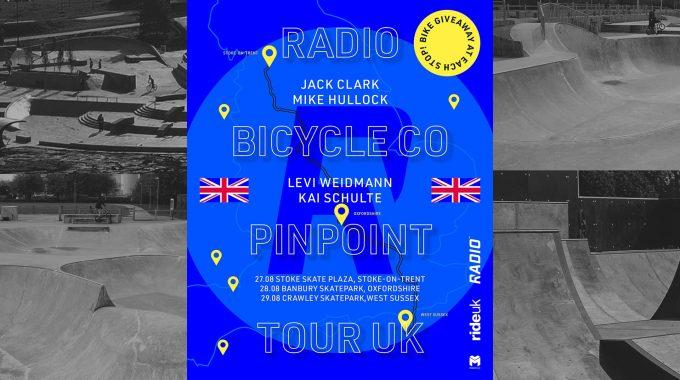 INCOMING: Radio Bikes Pinpoint Tour