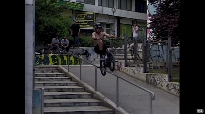 BSD: Craig Sime - Glasgow to Greece