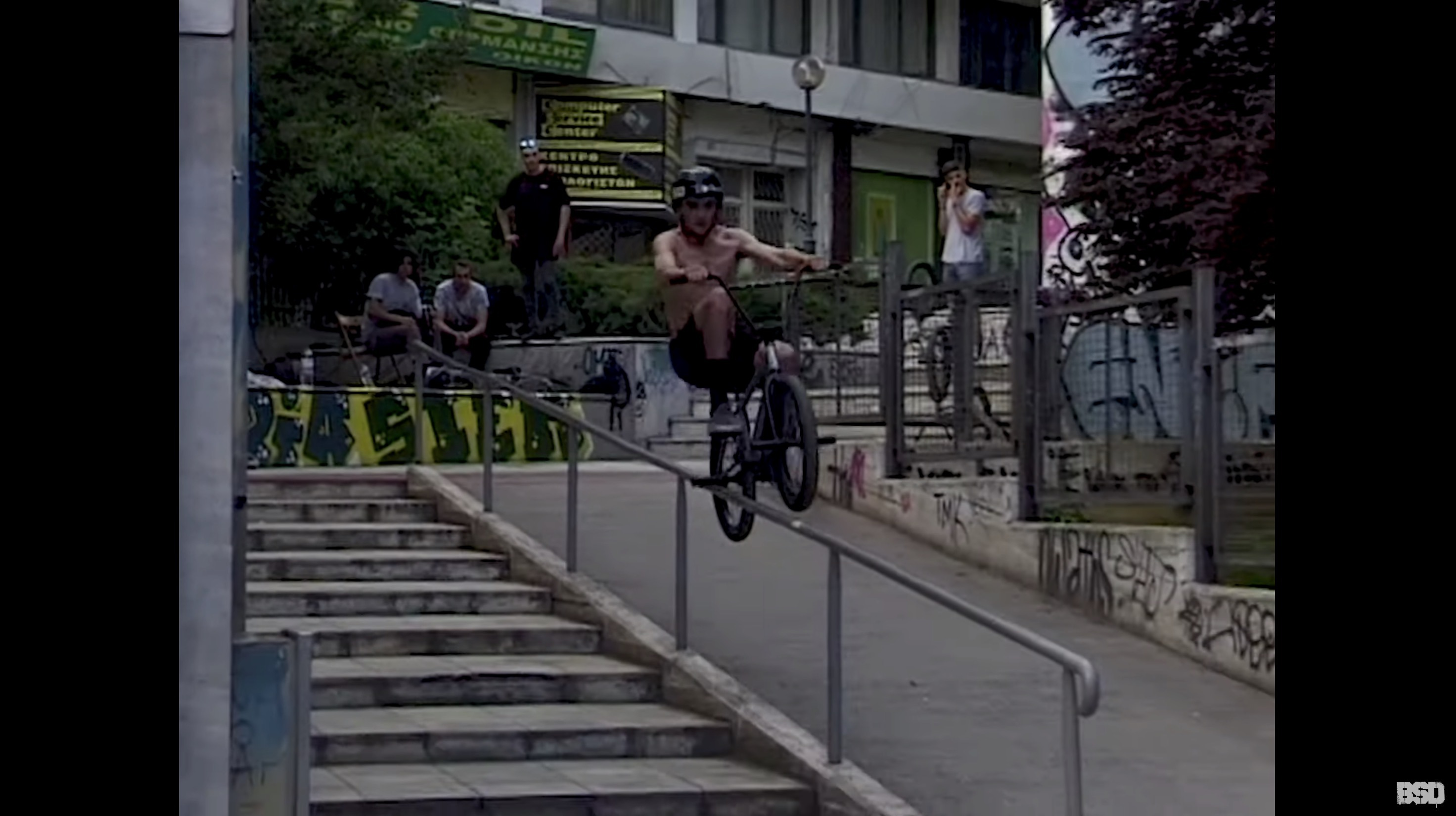 BSD: Craig Sime - Glasgow to Greece