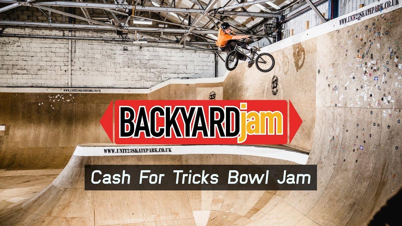 BACKYARD JAM: Cash For Tricks Bowl Jam @ Unit 23