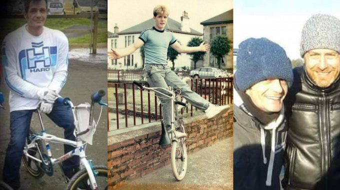 RIDE IN PEACE: Peter 'Higgy' Higgins