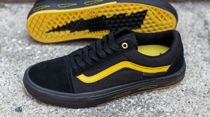 VANS: Larry Edgar Signature Old Skool Pro BMX Shoes & Clothing