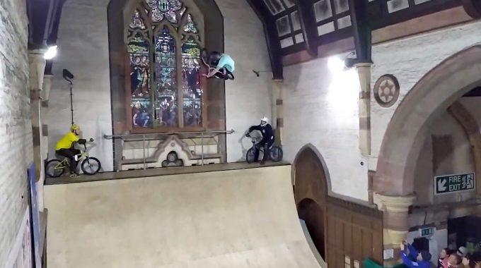 UK BMX VERT SERIES 2020: Round 1 / Mirra Jam @ Skaterham