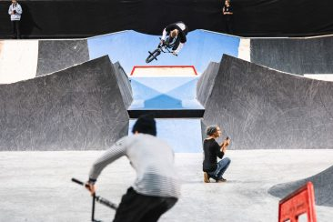 Felix Prangenberg, 360 to fakie over the channel