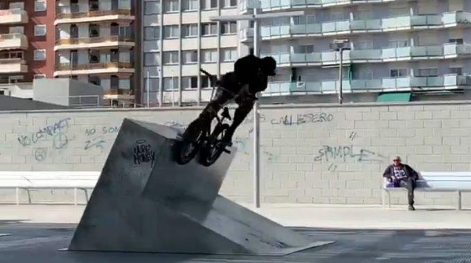 MERRITT BMX: Brandon Begin in Barcelona