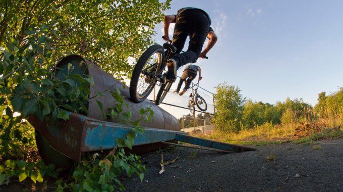 BETWEEN SEA & PINE 2: Norwich BMX Scene