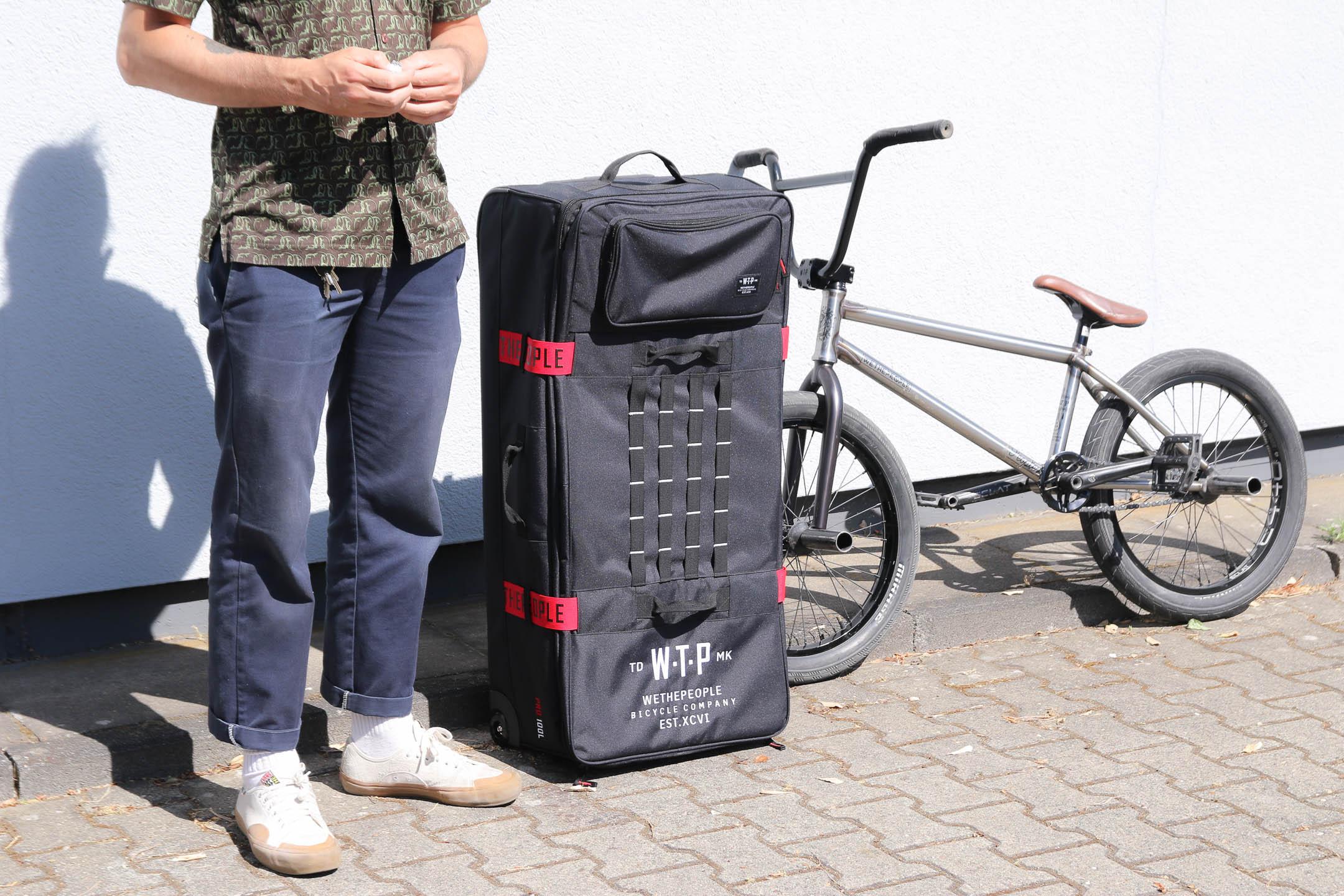 100 Litre WeThePeople PRO Bicycle Cycle Bike Flight Bag Black