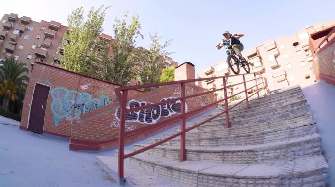 KINK BMX: Behind the Clip - Nathan and Agus in Madrid