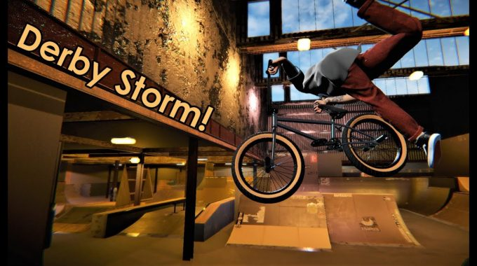 DERBY STORM: Classic UK indoor park on BMX Streets Pipe