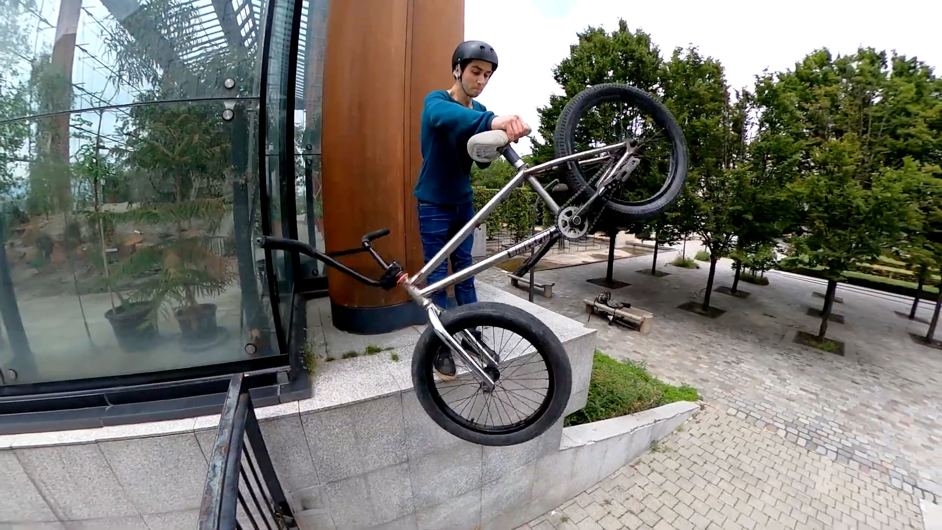 BIKESPIN: Rotating Seatpost Project