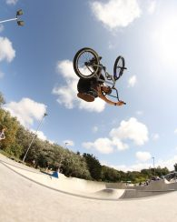 Ollie at Concrete Waves
