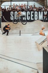 Nathan Williams, tyres up, 180 to flat