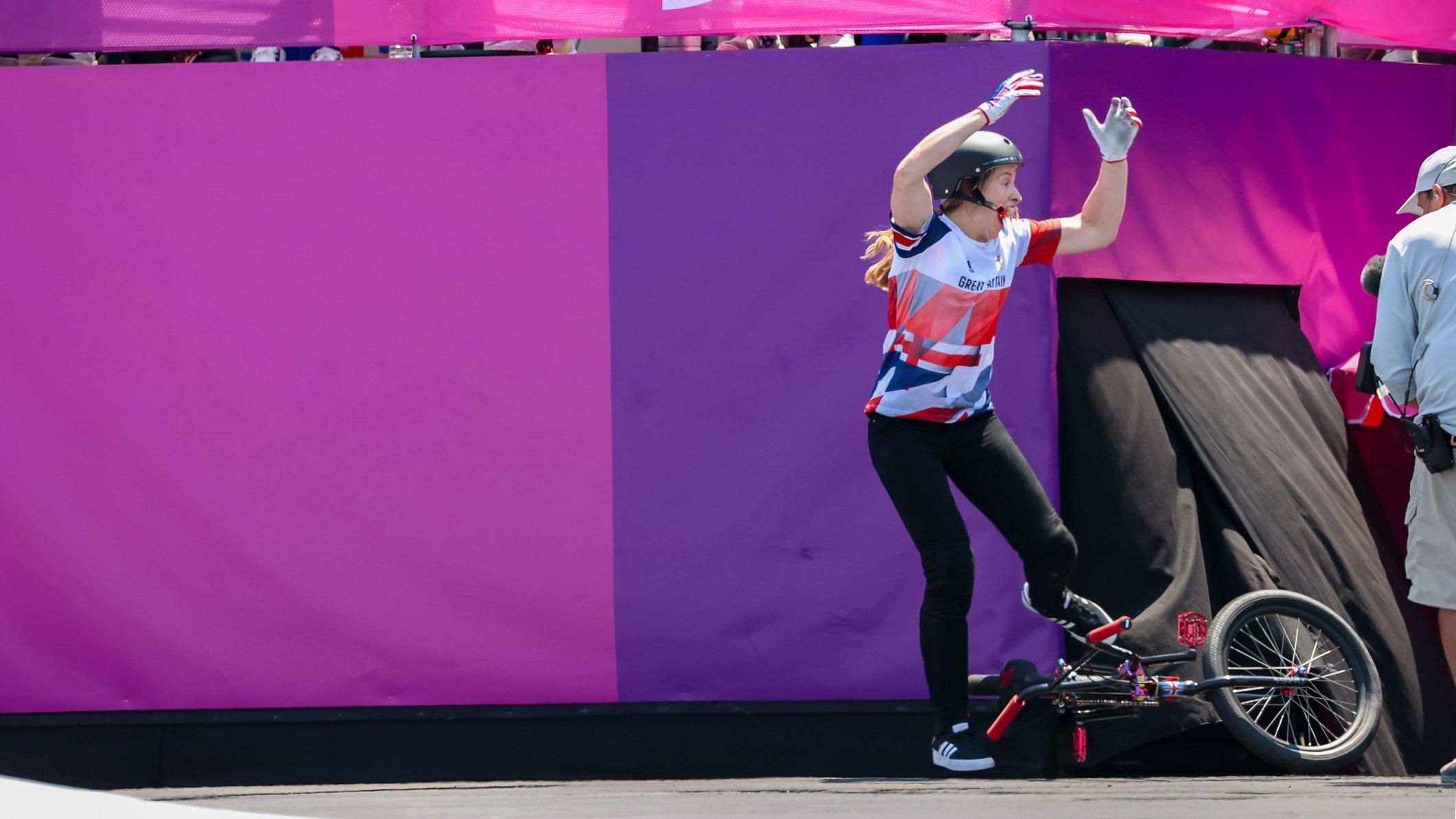 CHARLOTTE WORTHINGTON: Reflecting on Olympic BMX Gold